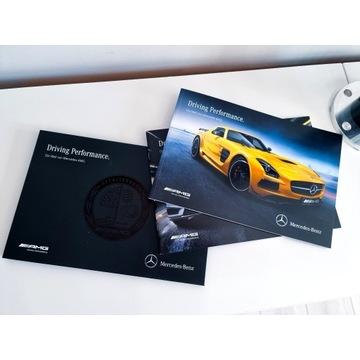 Prospekt Folder Mercedes AMG Driving Performance