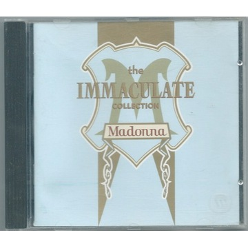 MADONNA - Immaculate Collection - CD Europe UNIKAT