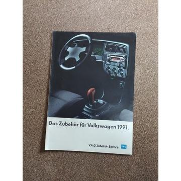 Prospekt gazetka Volkswagen 1991
