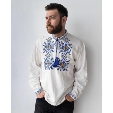 Koszula haftowana męska Folk, Etno