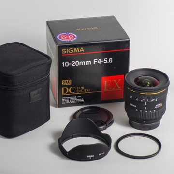 Sigma 10-20 mm f/4-5.6 EX DC  PENTAX