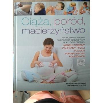 Książka poradnik ciąża poród macierzyństwo