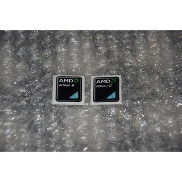 Naklejka AMD ATHLON II