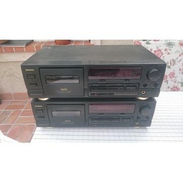 Magnetofon kasetowy AIWA AD-F550 2 szt.