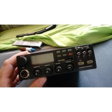 Cb radio Midland Alan 48 Plus Multi 12V 4W uszk