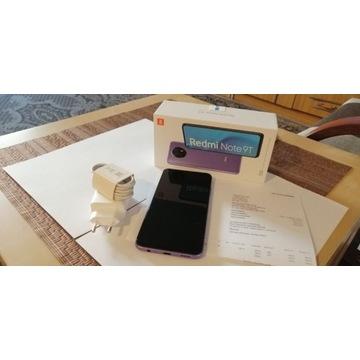 Xiaomi Redmi Note 9T 5G, fiolet, gwarancja