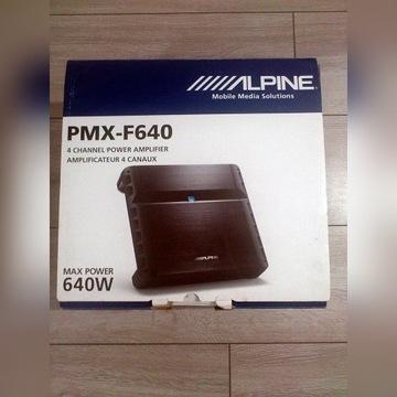Wzmacniacz samochodowy Alpine PMX-F640