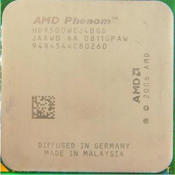 Procesor Phenom x4 9500 2,2GHz + chłodzenie
