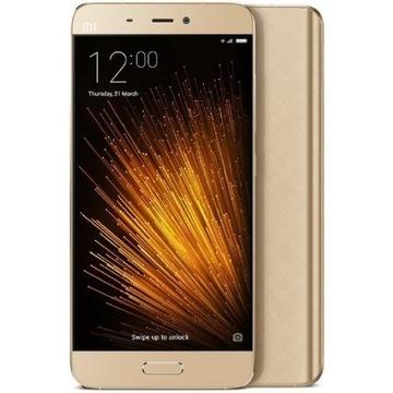 Xiaomi MI 5 3/32 GB GOLD+SZKŁO H9+ETUI-3szt