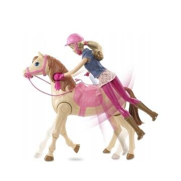 Barbie dżokejka na koniu