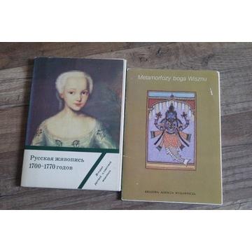 Pocztówki w obwolucie malarstwo XVIIw i Wisznu