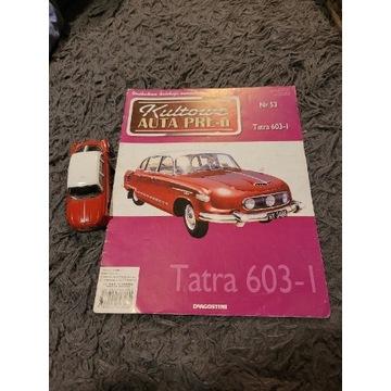 Tatra 603-1 model 1:43 + gazetka