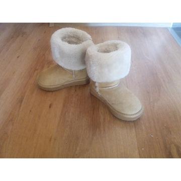 Buty ocieplane zimowe eskimoski 23 i Bartek 24