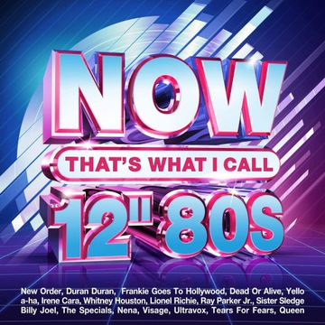 """NOW That's What I Call 12"""" 80s - 4cd MAXI VERSION"""