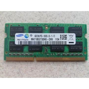 Pamięć RAM Samsung DDR3 4GB w jednej kości do lapt