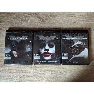 Batman Mroczny Rycerz Trylogia PL 4K UHD