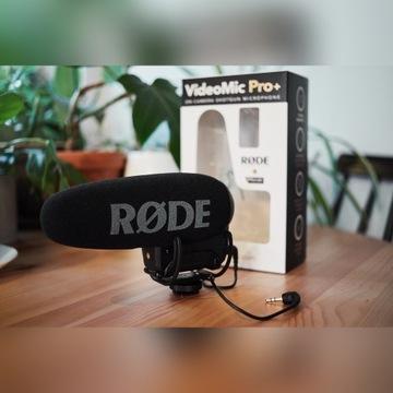 Mikrofon RODE VideoMic Pro+ plus, jak nowy