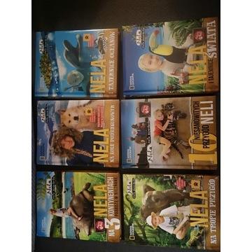 """Kolekcja książek przygodowych """" Nela"""""""