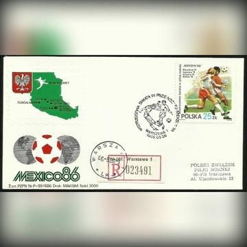 Piłka nożna Meksyk 1986 R-ka