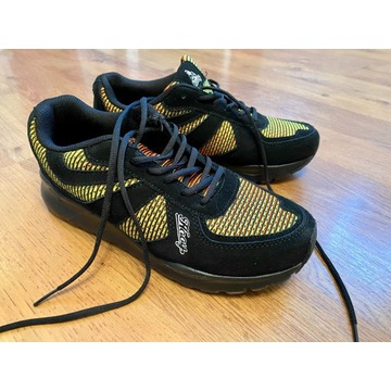 Hooy czarne/kolorowe sportowe buty  41
