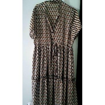 Piękna włoska sukienka j. Nowa!