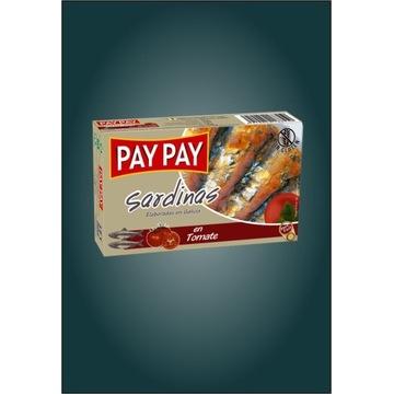 Sardynki w pomidorach Pay Pay hiszpańskie