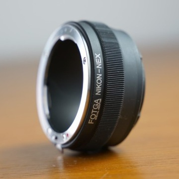 Adapter Fotga Nikon do E-mount