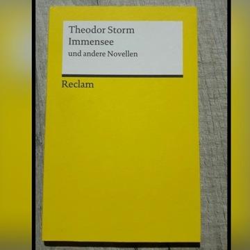 """""""Immensee und andere Novellen"""" Theodor Storm"""