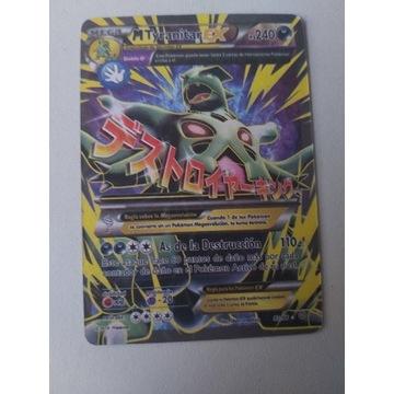 Karta pokemon mega tyranitar ex 92/98