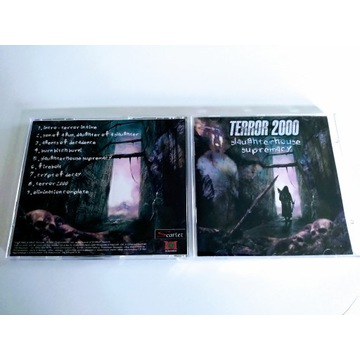 "TERROR 2000 - ""Slaughterhouse Supremacy""  CD"