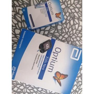 Glukometr Optium xido Neo ketoza paski 50 gratis