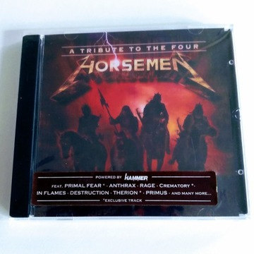 """A Tribute To The Four Horsemen""  CD - METALLICA"