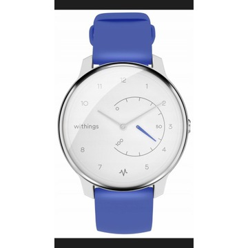 Niebieski Smartwatch WITHINGS Move ECG
