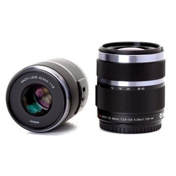 Obiektyw AF Xiaoyi 42.5mm 1.8 - Panasonic /Olympus