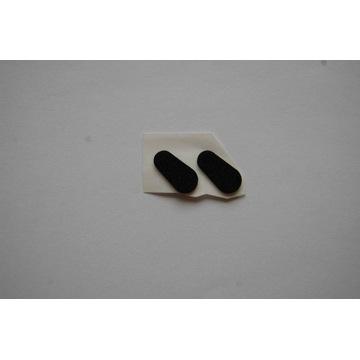 Piankowe noski do okularów /wzór 62/ 1,5mm czarne