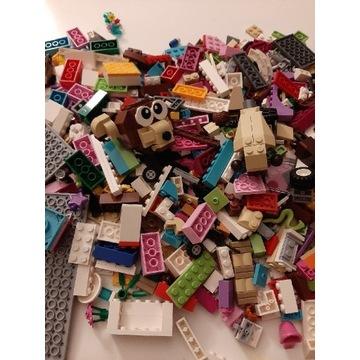 Klocki lego mix, 1,3 kg