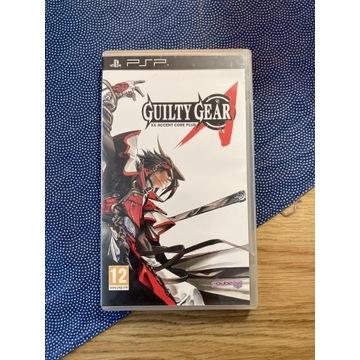 Guilty Gear XX accent core plus PSP komplet