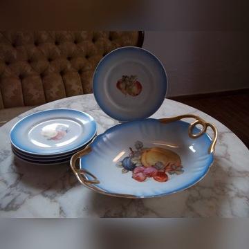 Porcelana Ćmielów  - komplet deserowy
