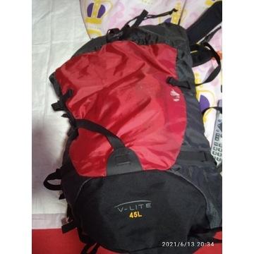 Duży plecak turystyczny 45L