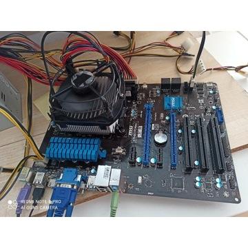 Płyta Socket FM2b MSI G41 PC Mate CrossFire x uszk