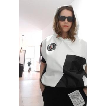 Minouu bluza Mila Lay biało/czarna