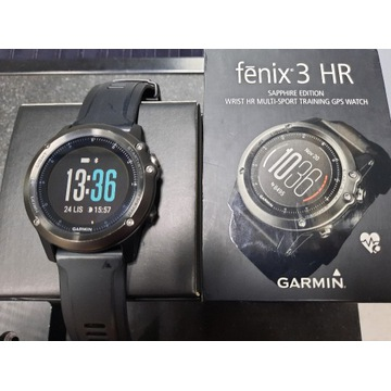 Garmin Fenix 3HR Sapphire Edition