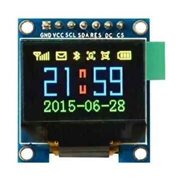 """Wyświetlacz OLED 0,95"""" color  STM32 arduino"""