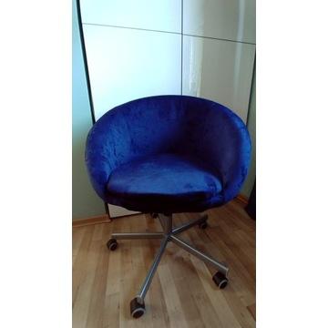 Fotel obrotowy krzesło IKEA Skruvsta welur aksamit