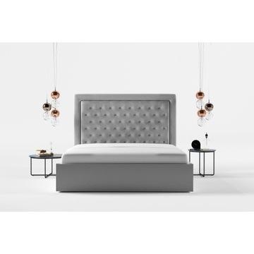 Łóżko CHESTER tapicerowane 140/200