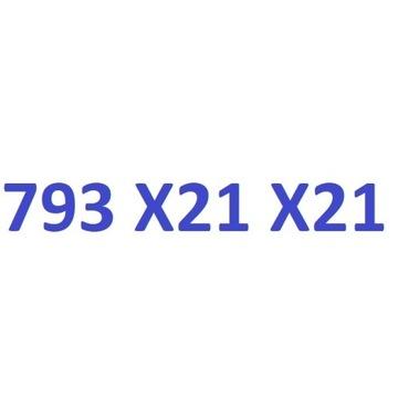 793 X21 X21 starter play złoty numer oczko21 na5