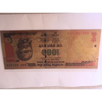 Banktot kolekcjonerski Indie