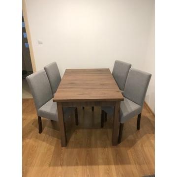 Zestaw - stół + 4 krzesła
