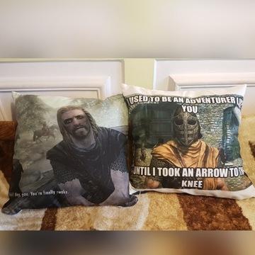 Poduszka Skyrim Morrowind Oblivion TES V Gra gry