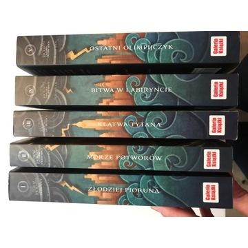 Seria książek Percy Jackson (1-5)
